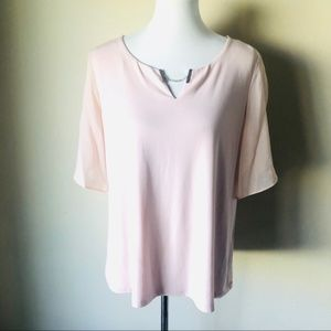 New with Tags Calvin Klein Blush Blouse